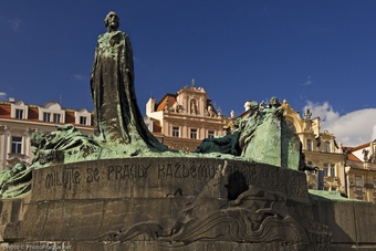 Monument to Master Jan Hus