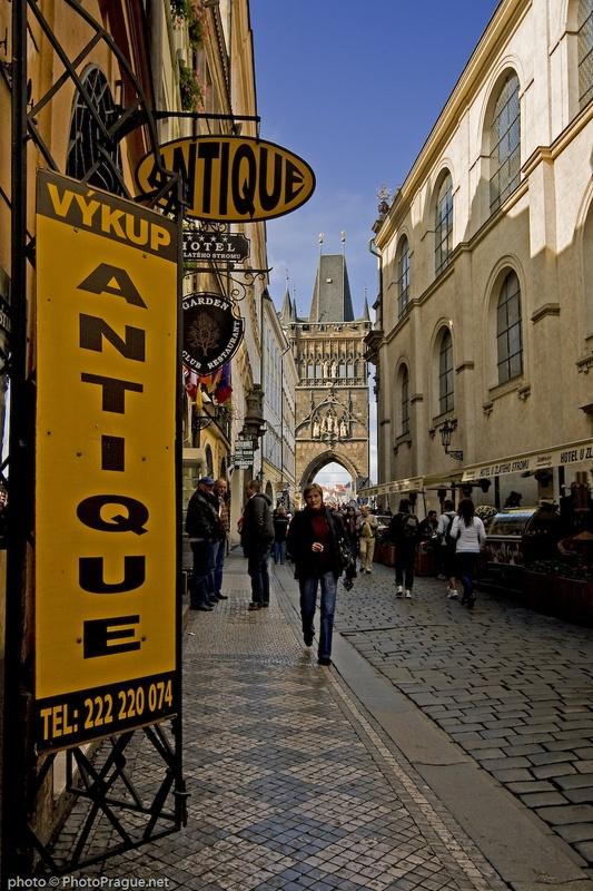 A 14th Century Cross Karlova Street - Pragu...